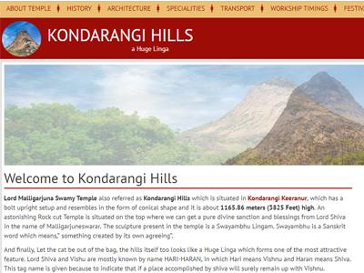 kondarangihills.com